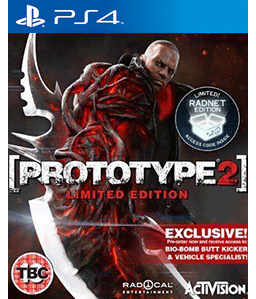 Prototype 2: Biohazard Bundle PS4