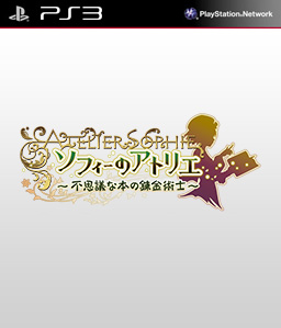 Atelier Sophie: The Alchemist of the Mysterious Book PS3 PS3