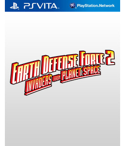 Earth Defense Force 2: Invaders from Planet Space Vita Vita