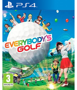 Everybody\'s Golf PS4