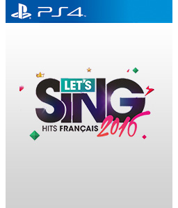 Let\'s Sing 2016: France PS4