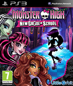 Monster High: New Ghoul in School PS3