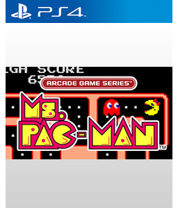 Ms. Pac-Man PS4