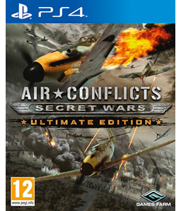 Air Conflicts: Secret Wars PS4