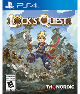 Lock's Quest Remaster PS4