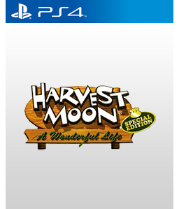 Harvest Moon: A Wonderful Life Special Edition PS4