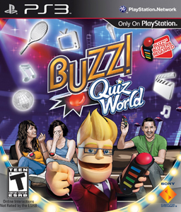 Buzz! Quiz World PS3