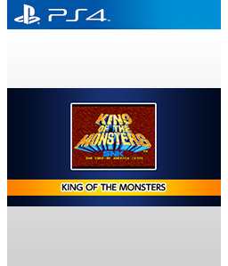 King of the Monsters PS4