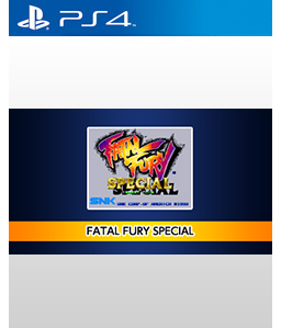 Fatal Fury Special PS4