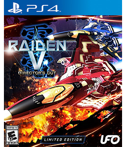 Raiden V: Director's Cut PS4