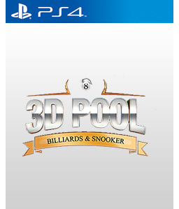 3D Pool: Billiards and Snooker PS4