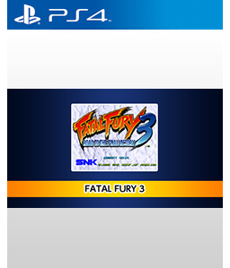 Fatal Fury 3 PS4