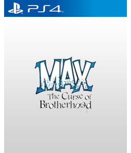 Max: The Curse of Brotherhood PS4
