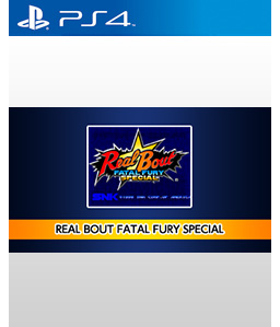 Real Bout Fatal Fury Special PS4