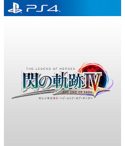 The Legend of Heroes: Trails of Cold Steel IV - The End of Saga PS4