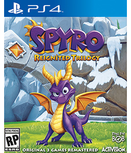Spyro Reignited Trilogy - Spyro the Dragon PS4