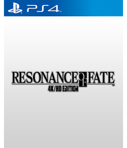Resonance of Fate 4K/HD Edition PS4