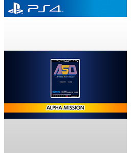 Alpha Mission PS4