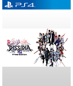 Dissidia Final Fantasy NT Free Edition PS4