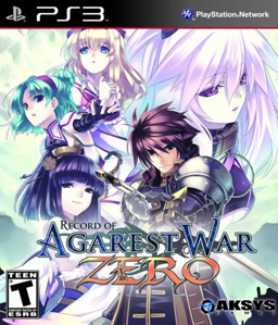 Record of Agarest War Zero Jp PS3