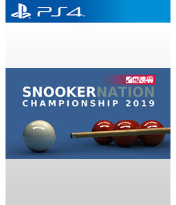 Snooker Nation Championship 2019 PS4