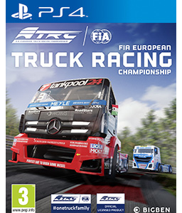FIA European Truck Racing Championship PS4