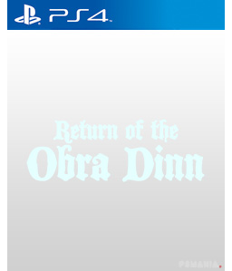 Return of the Obra Dinn PS4