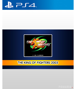 Aca NeoEgo The King of Fighters 2003 PS4