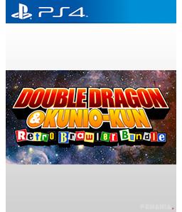 Double Dragon Kunio Kun Retro Brawler Bundle Ps4 Trophies Screenshots Trailers And More Playstation Mania