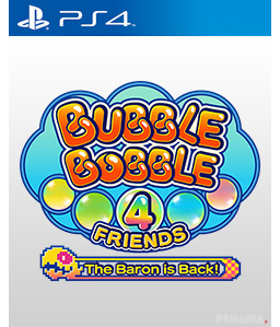 Bubble Bobble 4 Friends: Baron is Back PS4