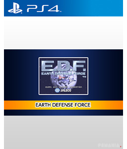 Arcade Archives Earth Defense Force PS4