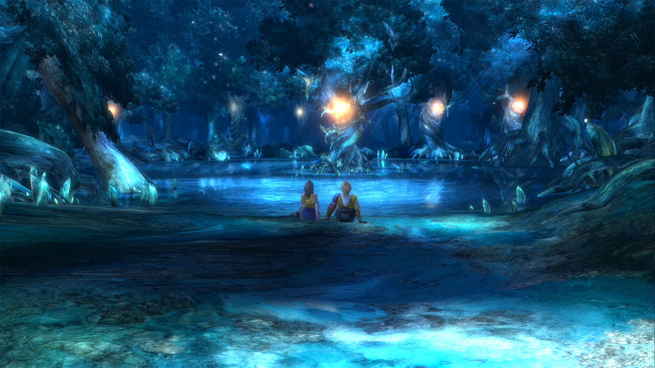 First high-res in-game screenshots of Final Fantasy X & X-2 HD