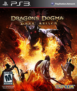 Dragon's Dogma: Dark Arisen US Cover art