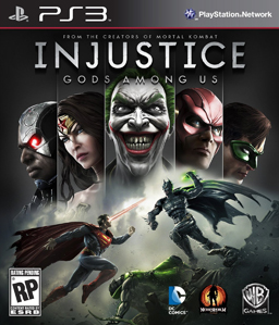 Injustice: Gods Among Us US cover art