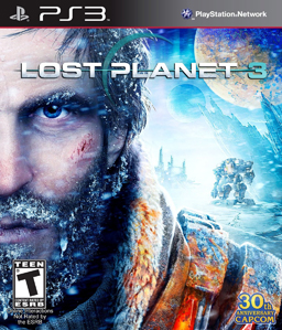 Lost Planet 3 US Cover art