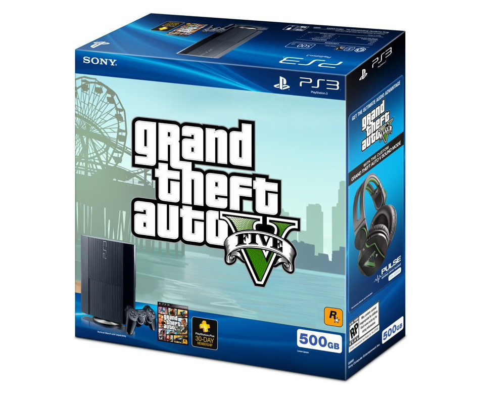The PS3 500GB Grand Theft Auto V bundle detailed
