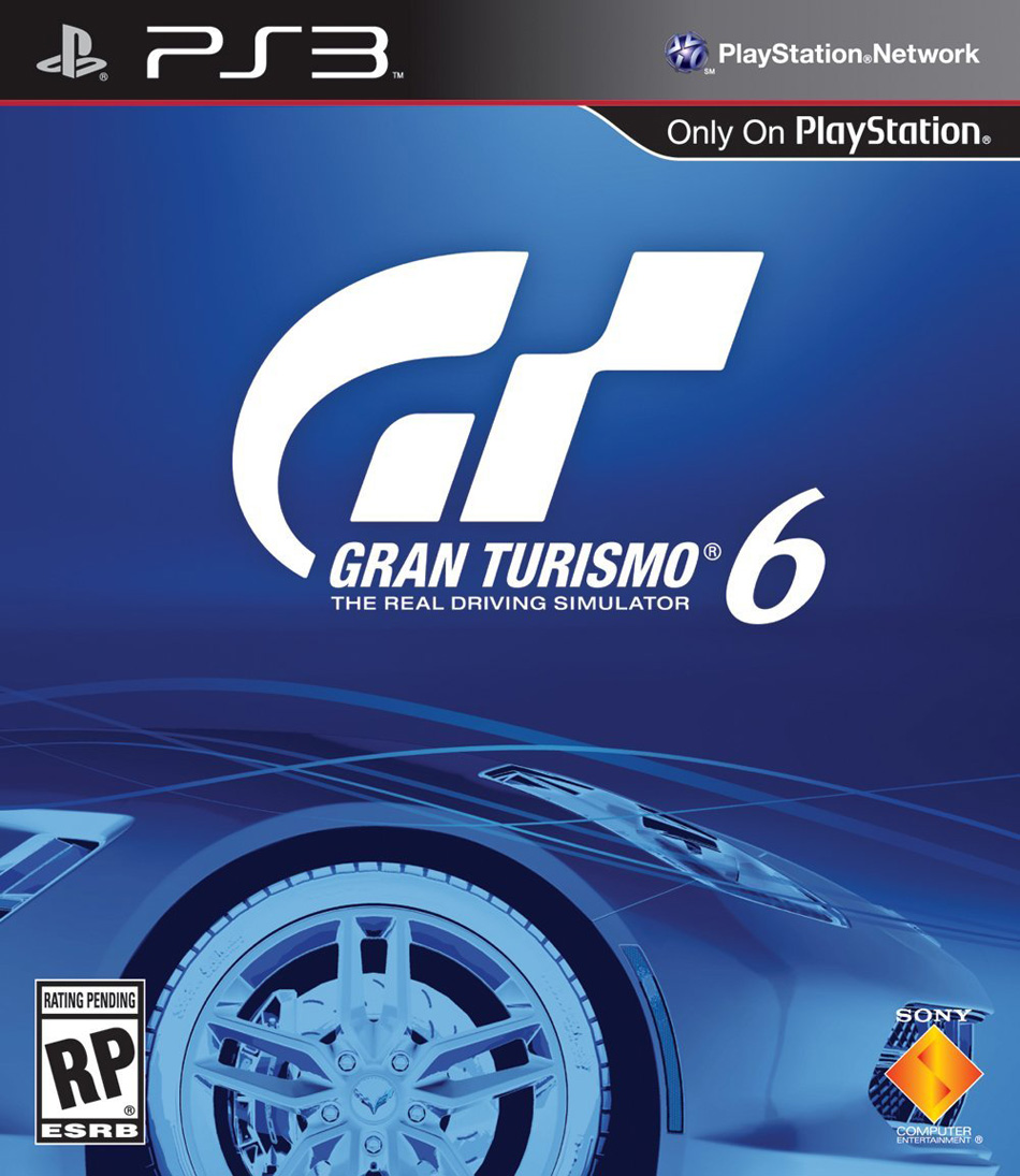 New, sleek Gran Turismo 6 box art unveiled