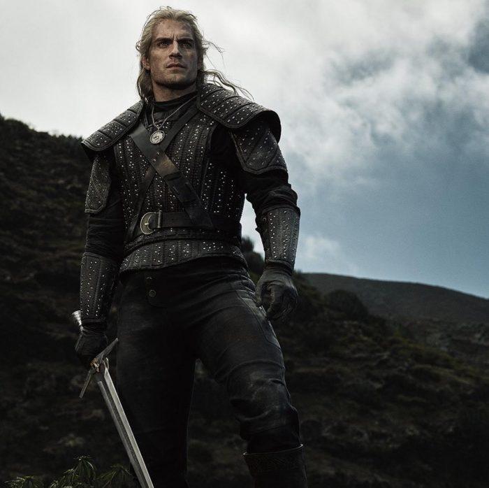man with sword facing camera